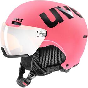 UVEX hlmt 500 Visor Helm, pink matt